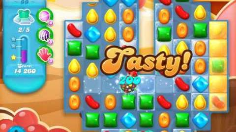 Candy Crush Soda Saga Level 99 (nerfed, 3 Stars)