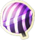 Striped Lollipop Icon
