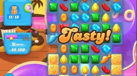 Candy Crush Soda Saga Level 109 (buffed, 3 Stars)