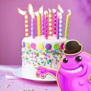Bubblegum Happy Birthday