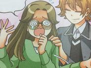 Miyuki nervous and blushing