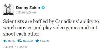 Danny Zuker on Canada