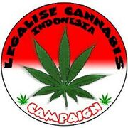 Indonesia legalise cannabis campaign