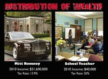 Mitt Romney tax rate vs teacher
