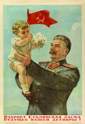 Stalin and child