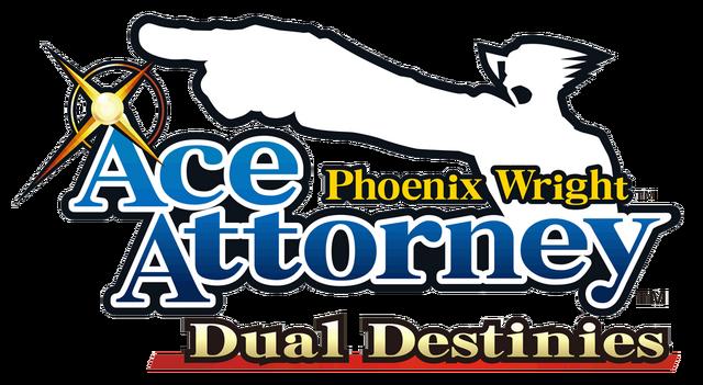 File:Phoenix Wright DD Logo.png