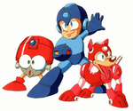 Eddie Mega Man and Rush
