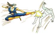 Carlos Flying Kick