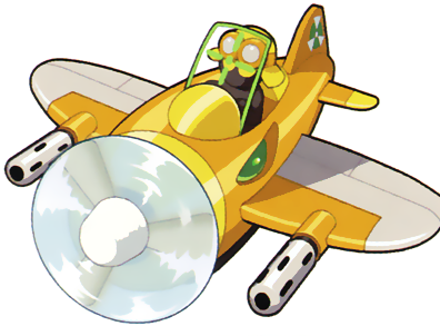 File:MMBN6 FighterPlane.png
