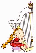 Yai on the Harp