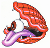 Super GnG Eyeball Clam