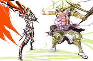 Nobunaga and Kennyo