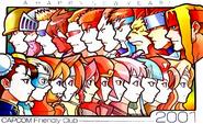 Capcom Happy New Year 2001