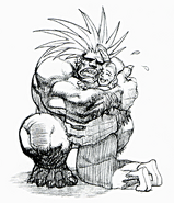 Blanka and his Mother