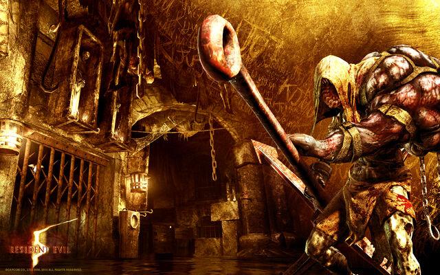 File:Resident Evil 5 - Lost in Nightmares wallpaper.jpg