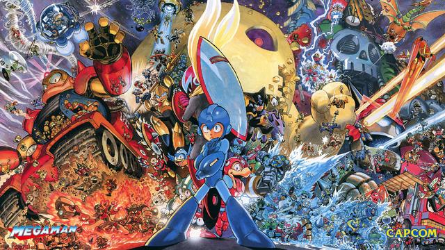 File:MM Heroes Of Capcom Wallpaper.png