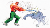 Final Fight Haggar Pipe