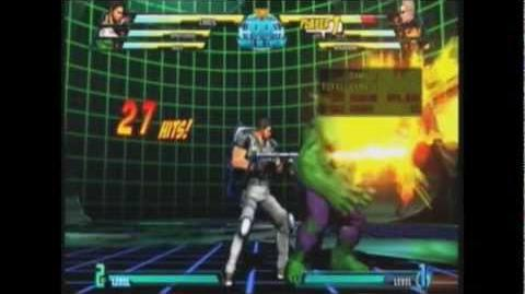 Marvel Vs Capcom 3 Chris Combos-0