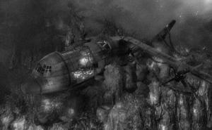Soviette Plane Crash
