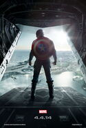 Captain America The Winter Soldier Teaser poster 2