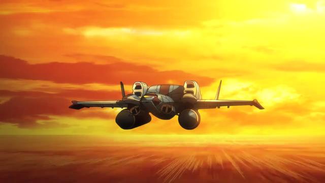 File:Captain Earth Wiki - Vehicle - Heavy Supply Transport - Ekranoplane - Bravnik - Sunset.png
