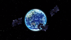 Captain Earth Wiki - Unmanned Impacter - Cerberus