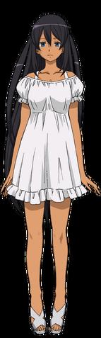 File:Captain Earth Wiki - Character - Hana Mutou - Casual.png