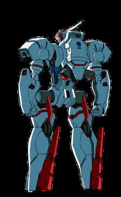 Captain Earth Wiki - Mech - Engine - Earth - Ordinary - Back