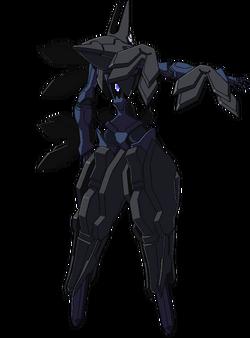 Captain Earth Wiki - Mech - Kiltgang - Type-1 -Amarok - Back