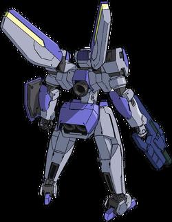 Captain Earth Wiki - Mech - Machine Goodfellow - Tenrousei - Back