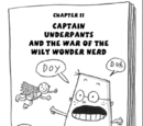 Captain Underpants and the War of the Wily Wonder Nerd