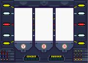 Slot machine with key
