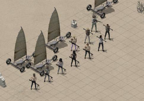 Caravaneer Units - Pirates