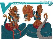 Demonic Dragon Mage, Rakshasa (Design)