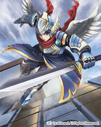 Falcon Knight of the Azure (Full Art)