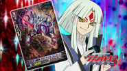 Takuto Tatsunagi possessed with Star-vader, Dust Tail Unicorn