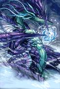 Hydro Hurricane Dragon (Full Art)