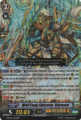 Vanguard Cards English