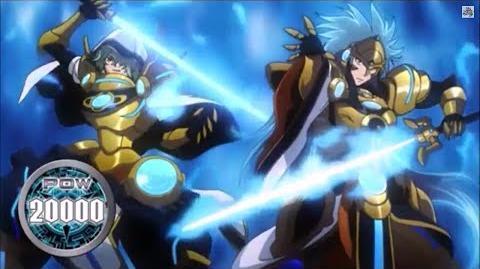 (Legion Mate) Blue Flame Liberator, Percival & Liberator of Oath, Aglovale 'Legion' - HD