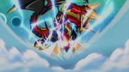 Eradicator, Gauntlet Buster Dragon (Anime-GC-NC)