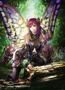 Bewitching Officer, Lady Butterfly (Full Art)