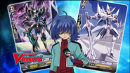 Sendou Aichi- Blaster Dark and Blaster Blade