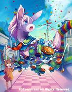Castanet Donkey (Full Art)