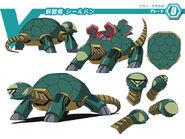 Ironclad Dragon, Shieldon