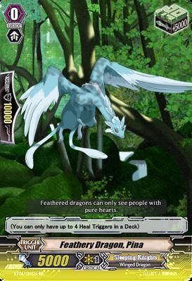 Feathery Dragon, Pina