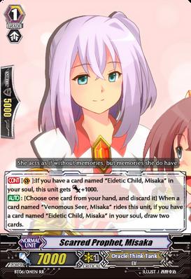 Scarred Prophet, Misaka