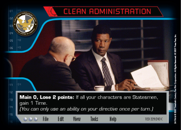Cleanadministration 1E