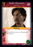 Sabir Hussain - Lieutenant (D0)