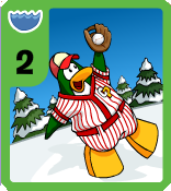 Level 2 Water Baseball card