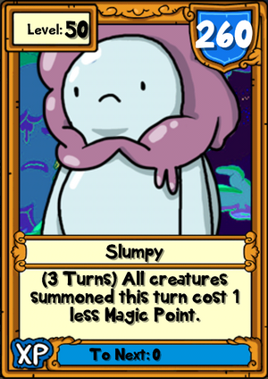 Slumpy Hero Card
